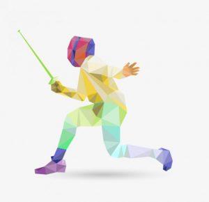 polygonal-color-fencing-vector_23-2147496398